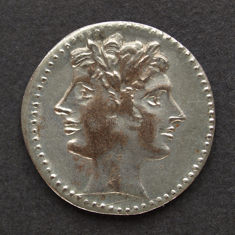 Moeda romana fotos de stock royalty free