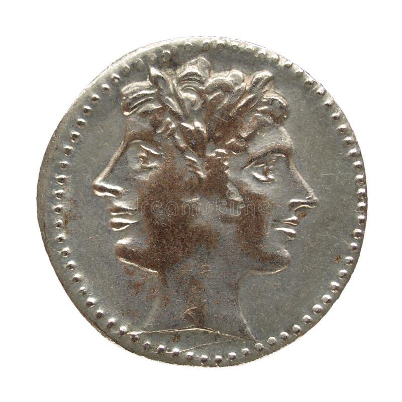 Moeda romana foto de stock royalty free