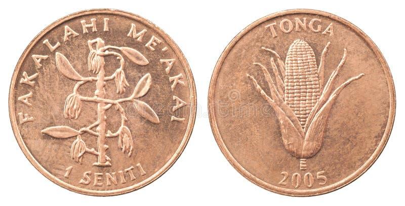 Moeda Tonga imagem de stock royalty free