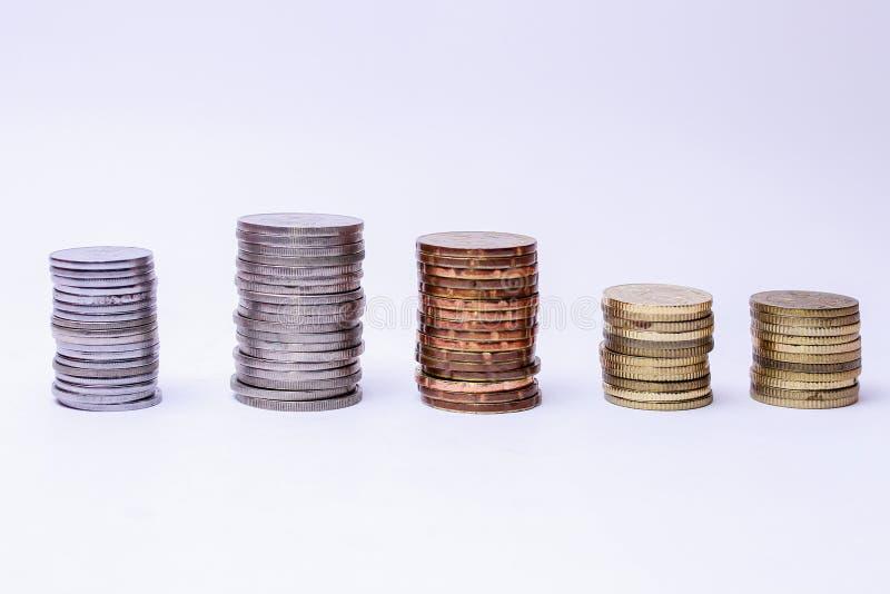 moedas fotos de stock royalty free