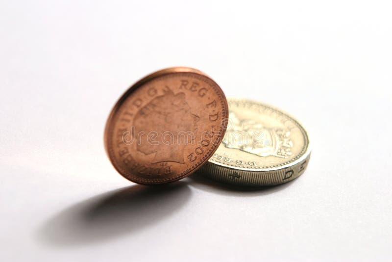 Download Moedas BRITÂNICAS imagem de stock. Imagem de finanças, dinheiro - 55279