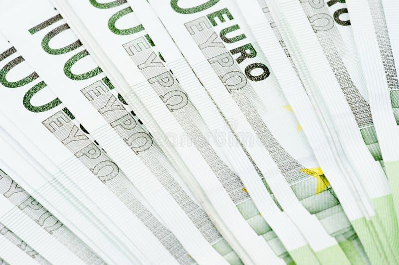 Moedas do Euro imagem de stock royalty free