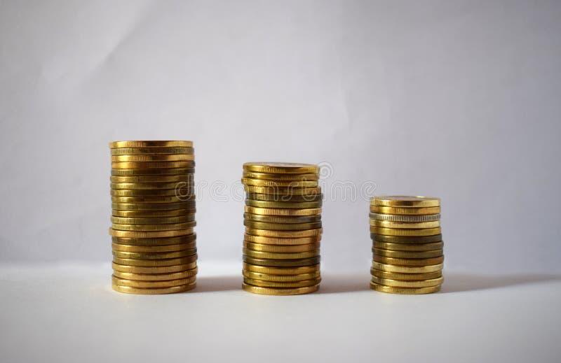 Moedas sérvios - dinares 2 fotografia de stock royalty free