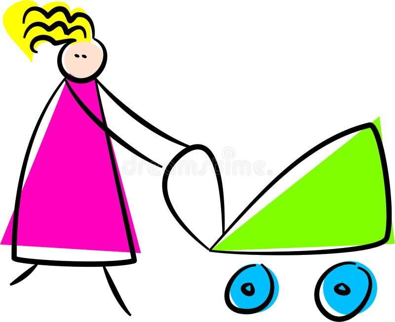 Moeder stock illustratie