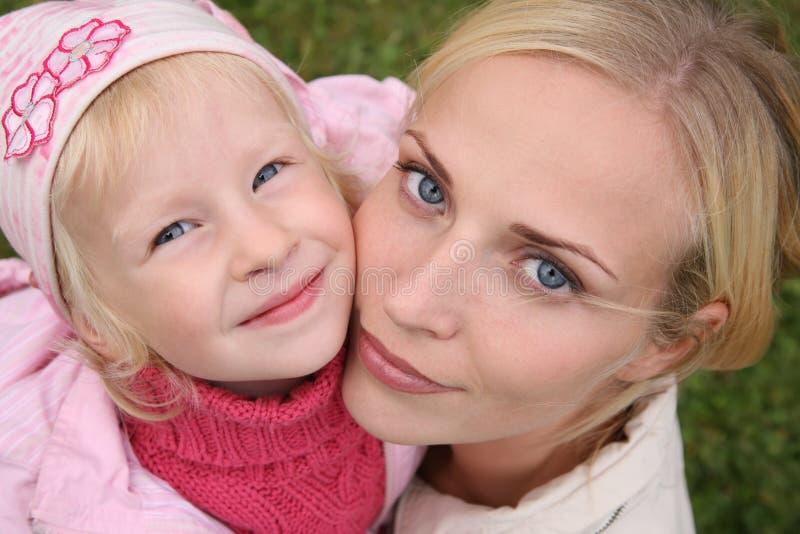 Moeder en de dochter royalty-vrije stock afbeeldingen