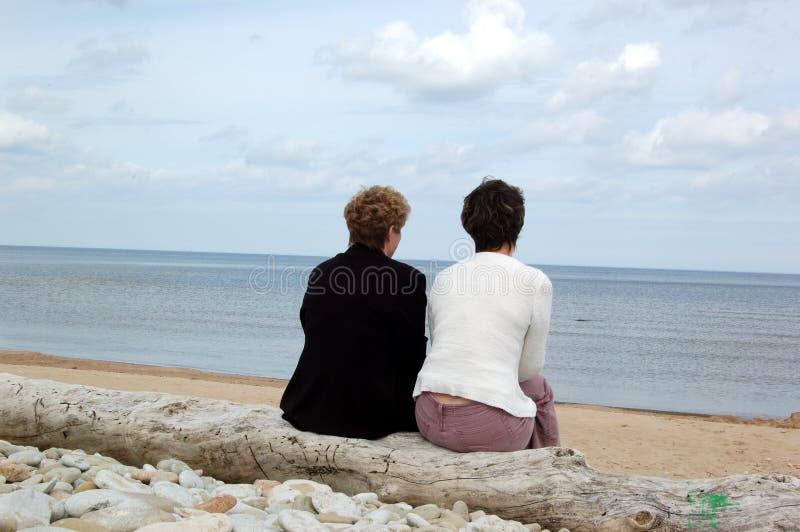 Moeder en de dochter royalty-vrije stock afbeelding