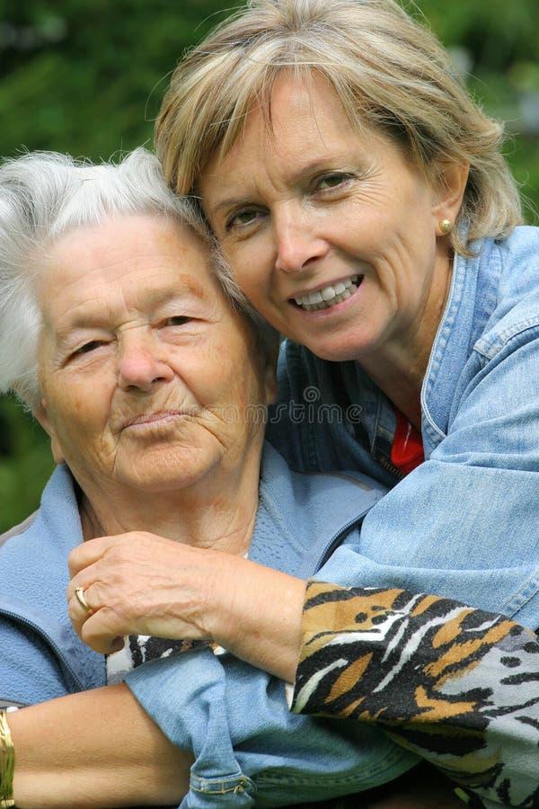 Moeder en dochter [3] stock foto's