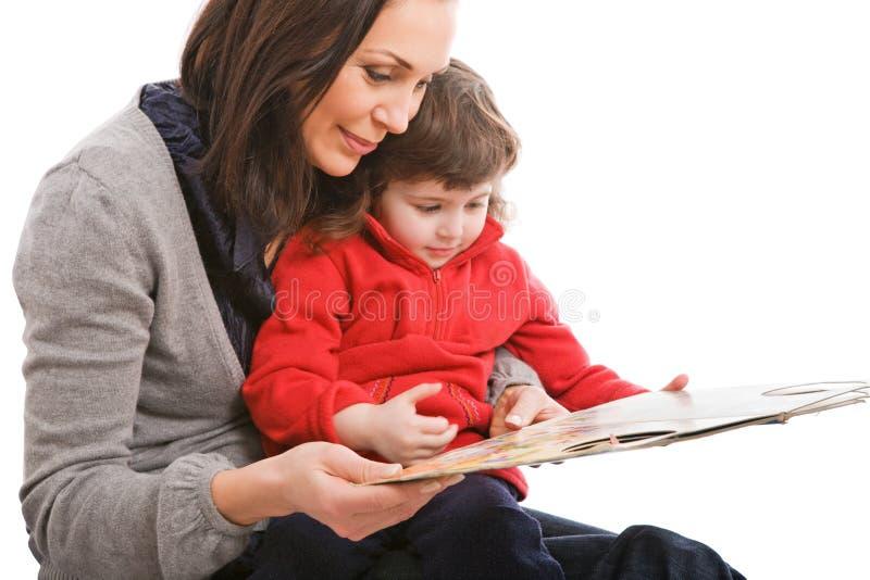 Moeder en dochter, beste vrienden royalty-vrije stock foto