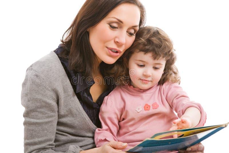 Moeder en dochter, beste vrienden royalty-vrije stock afbeeldingen