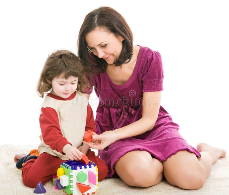 Moeder en dochter, beste vrienden stock afbeeldingen