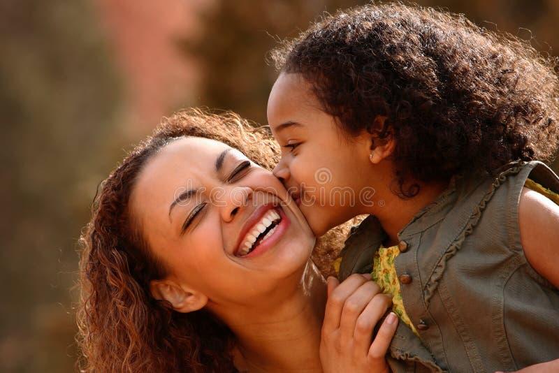 Moeder en Kind royalty-vrije stock foto