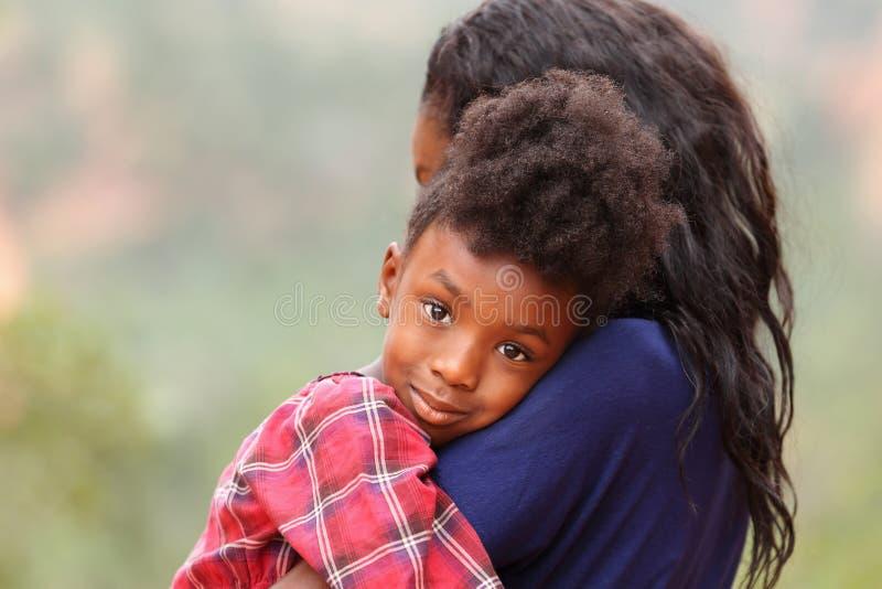 Moeder en Kind stock afbeeldingen