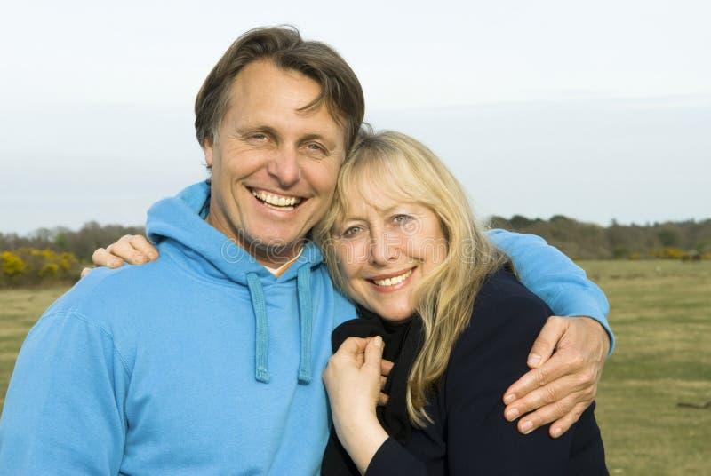 Moeder en zoon. royalty-vrije stock foto