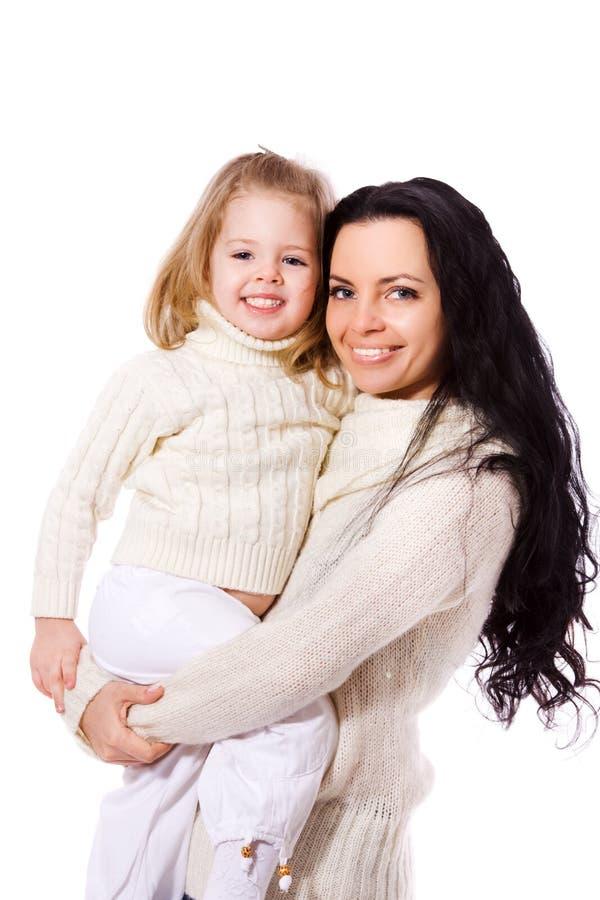 Moeder met dochter royalty-vrije stock foto