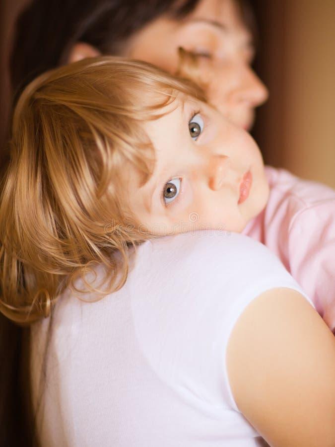 Moeder met kind stock afbeeldingen