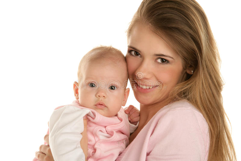 Moeder met kind stock foto