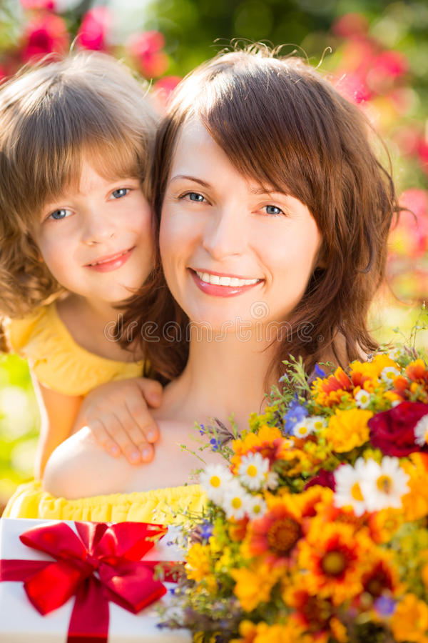 Moeder` s dag royalty-vrije stock fotografie