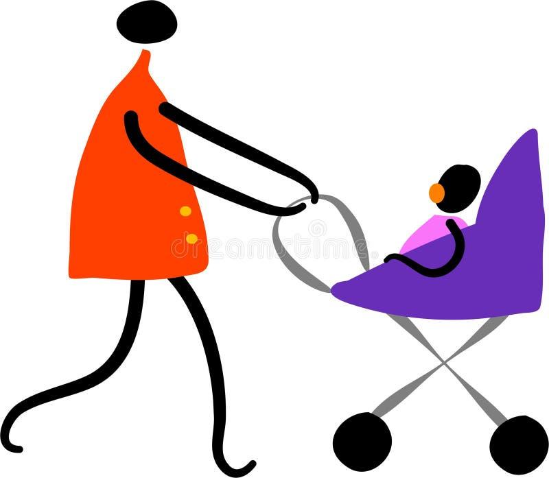 Moederschap royalty-vrije illustratie