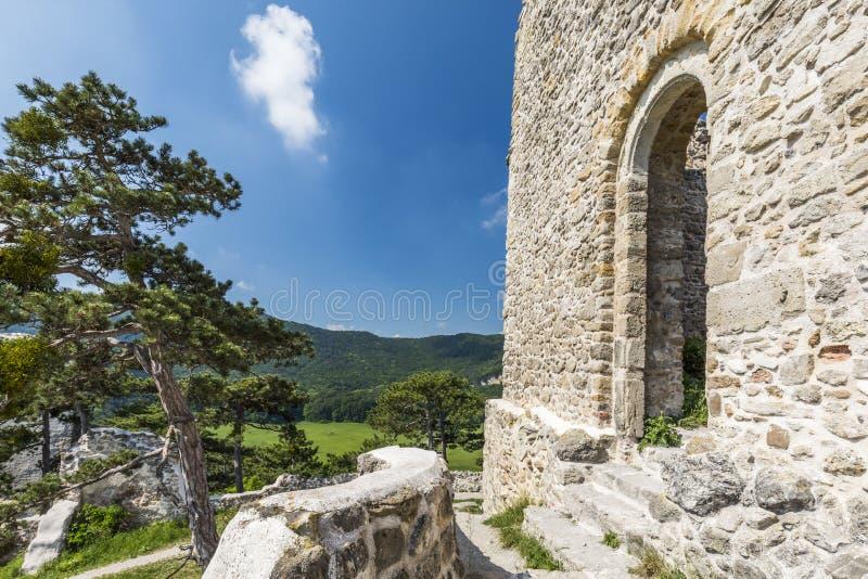 Moedling slott i Österrike arkivbilder
