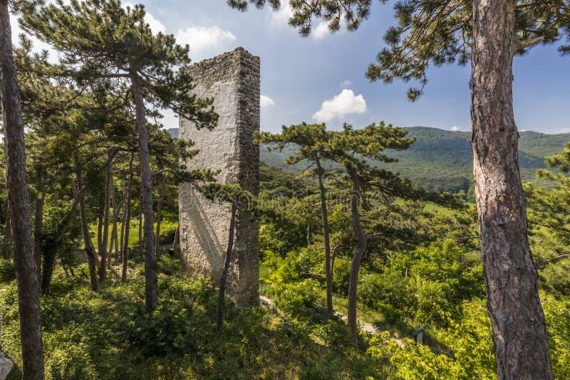 Moedling slott i Österrike royaltyfria bilder