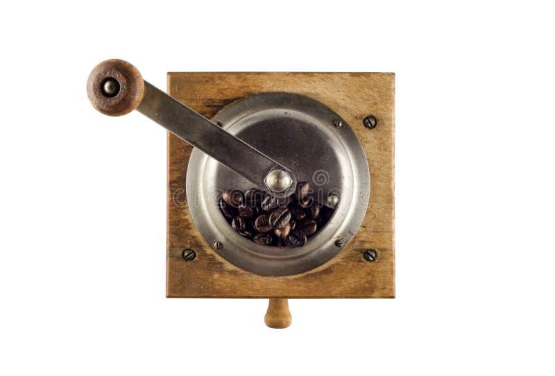 Moedor de café antigo imagem de stock