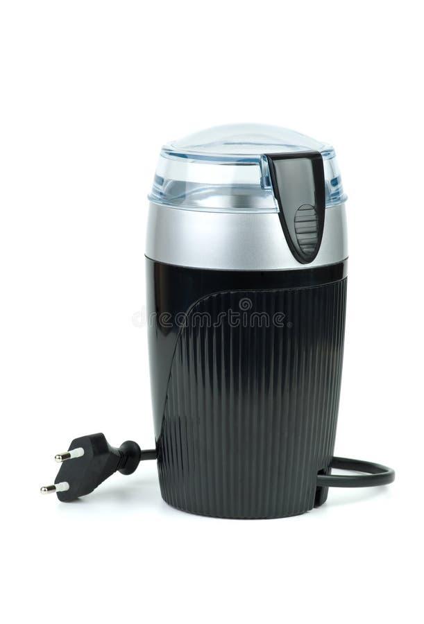 Moedor de café elétrico foto de stock royalty free