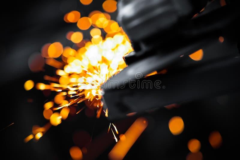 Moedura elétrica da roda foto de stock royalty free