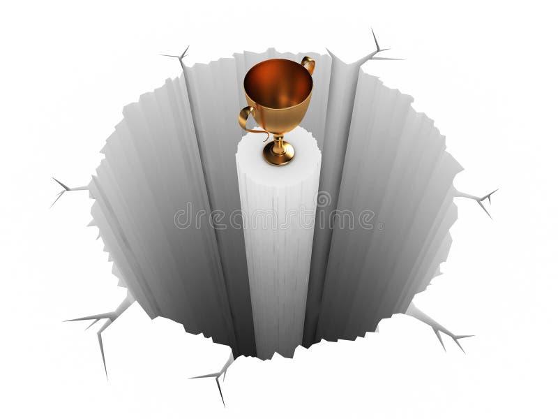 Moeilijke Prijs royalty-vrije illustratie