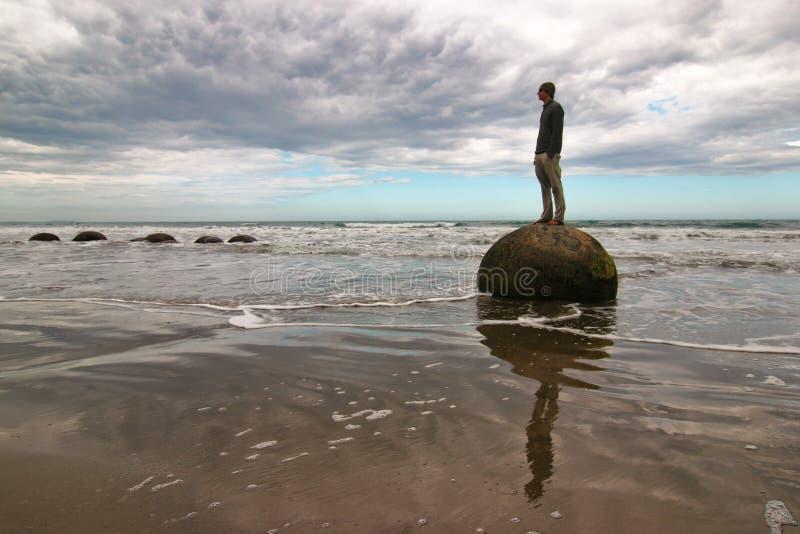Download Moeraki Boulders In New Zealand Stock Image - Image: 10263837