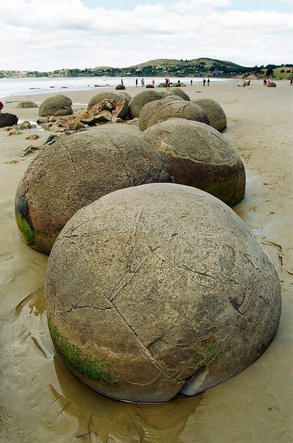 Free Moeraki Boulders, New Zealand Stock Images - 14000544