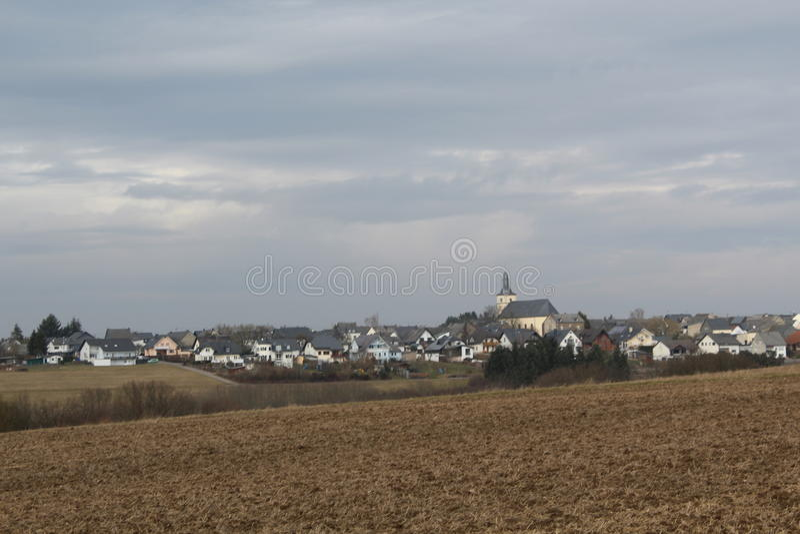 Moersdorf在德国 库存照片