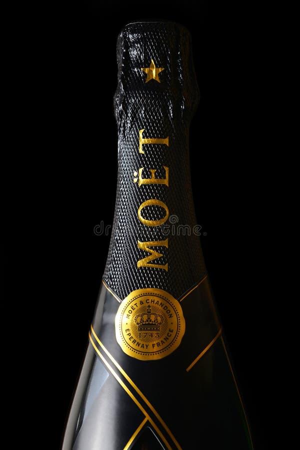 Moet & Chandon champagne fotografering för bildbyråer