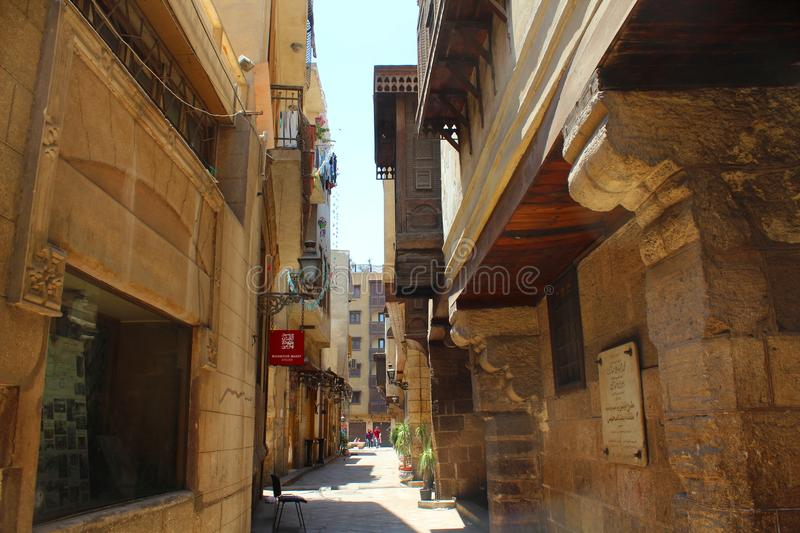 Moez streets royalty free stock photography