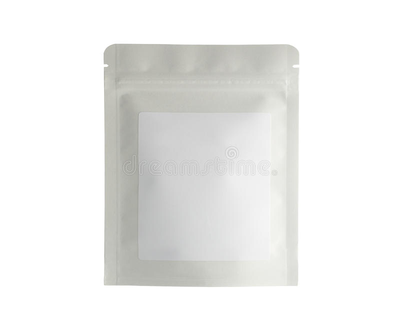 Mofa del blanco encima de la comida o de la bebida en blanco de la hoja foto de archivo libre de regalías