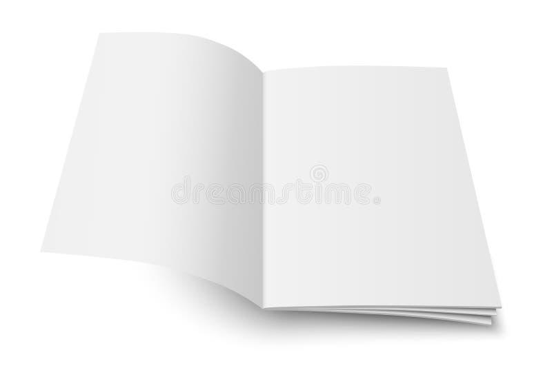 Mofa del vector para arriba del libro o de la revista ilustración del vector