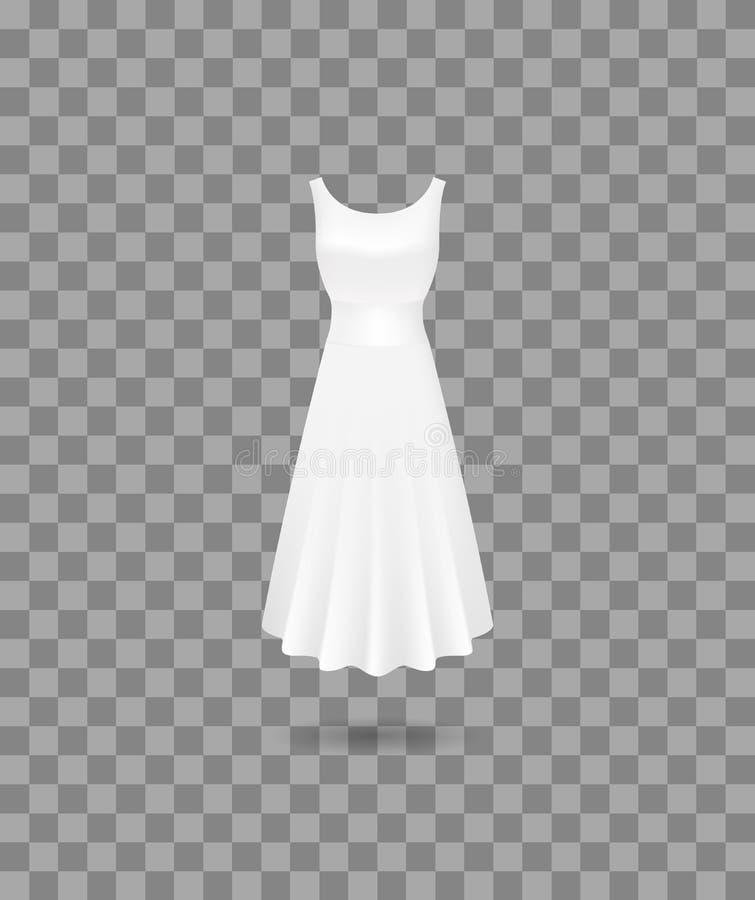 Mofa detallada realista del vestido de las mujeres 3d para arriba Vector libre illustration