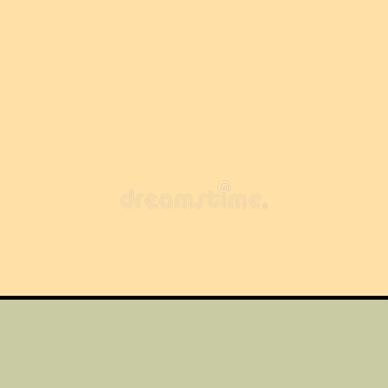 Mofa encima del fondo para el vector dividido anuncio ilustración del vector