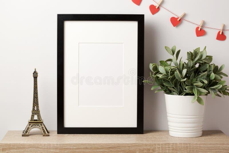 Mofa negra del marco para arriba fotografía de archivo