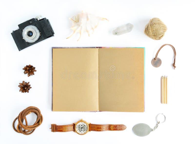 Mofa para arriba con el cuaderno fotos de archivo libres de regalías