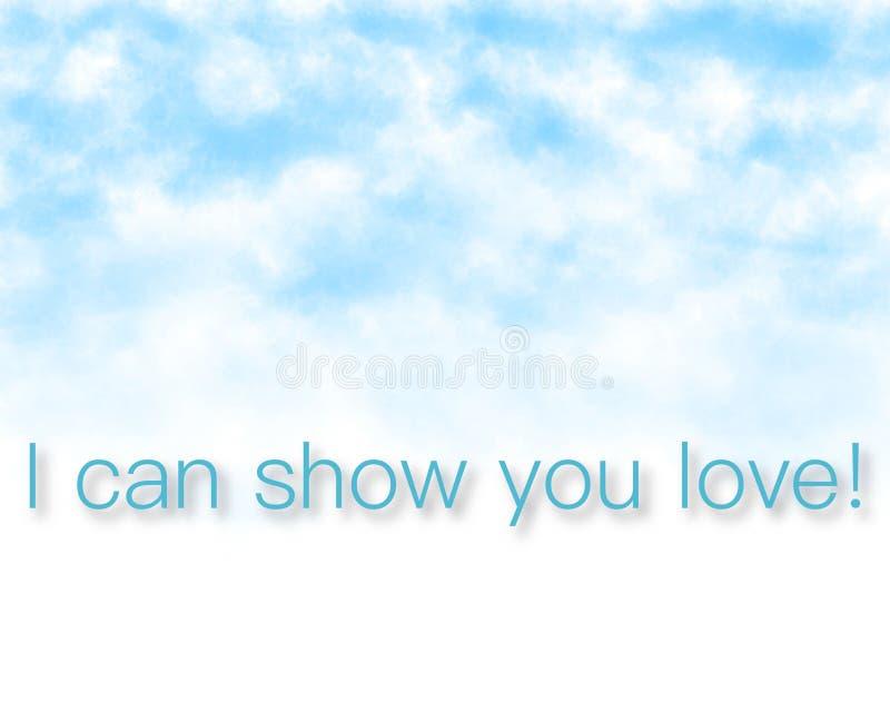 Mogę pokazywać ci miłości - super ilość biznesowy obrazek zdjęcie stock