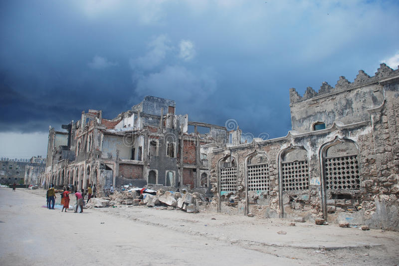 Download Mogadishu City editorial stock image. Image of ragged - 31069949