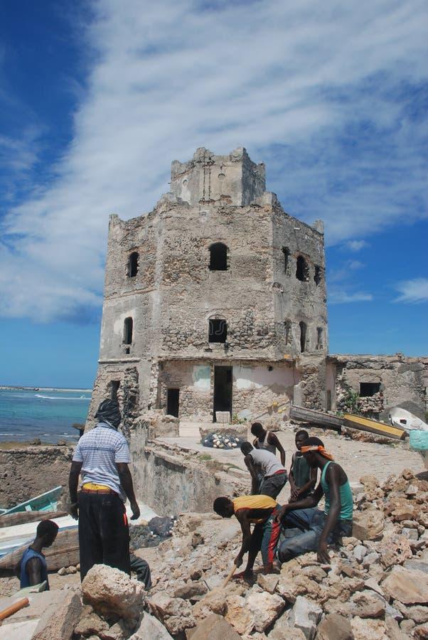 Mogadishu Haven stock foto