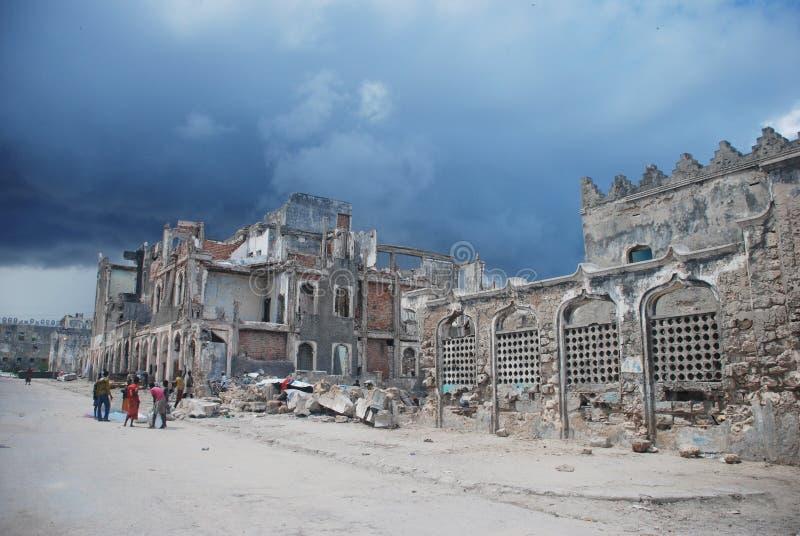 Mogadishu Stad royalty-vrije stock afbeeldingen