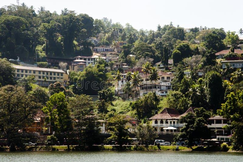Mogambara sjökust - Kandy - Sri Lanka royaltyfria foton