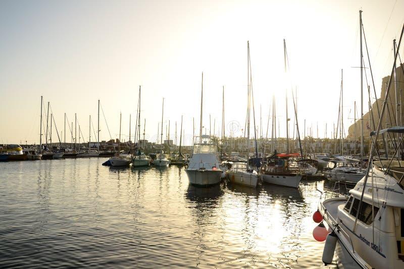 Mogan Dock fotografie stock libere da diritti
