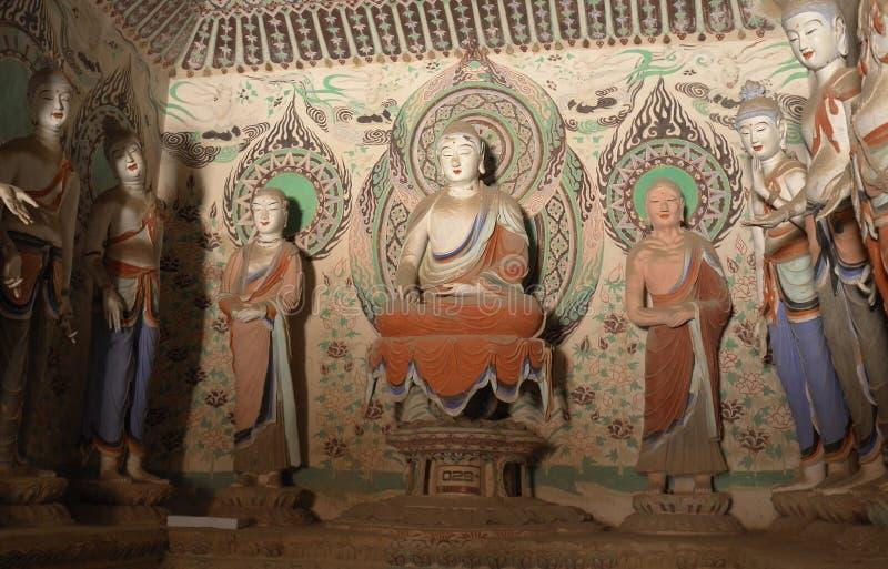 Mogao zawala się w Dunhuang, Chiny obraz royalty free