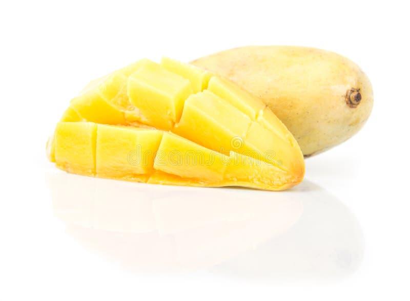 Mogen mango royaltyfri bild
