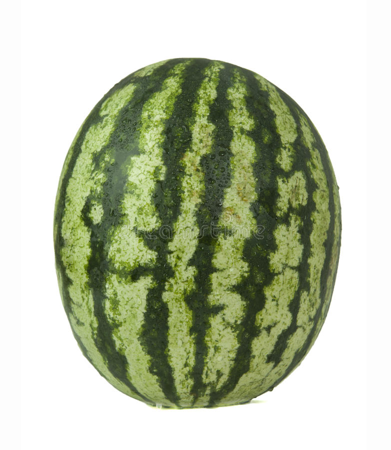 Mogen och saftig vattenmelon