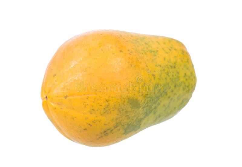 mogen papaya arkivbild