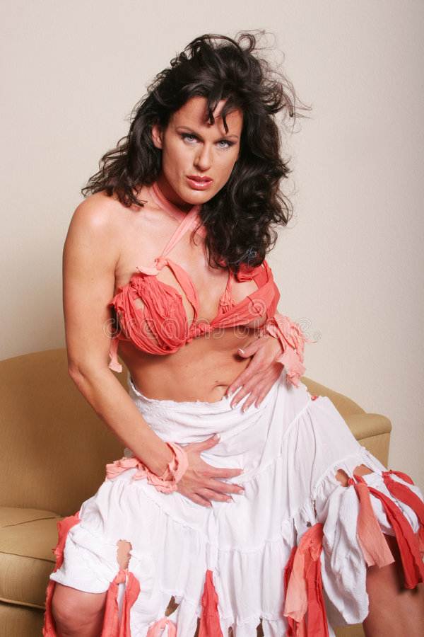 Mogen Sexig Kvinna Arkivfoton